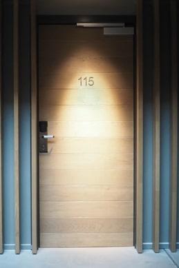 Двери деревянные усиленные
