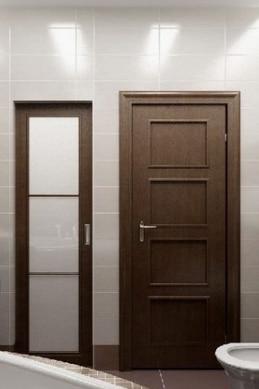 Двери деревянные влагостойкие